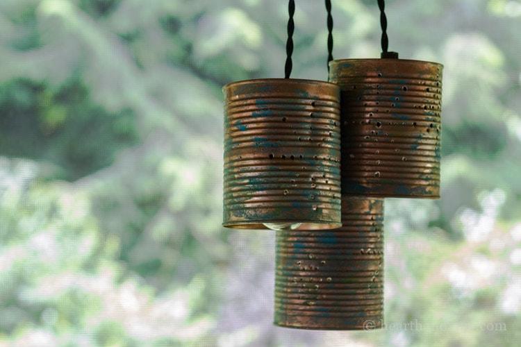Tin Can Pendant Lights
