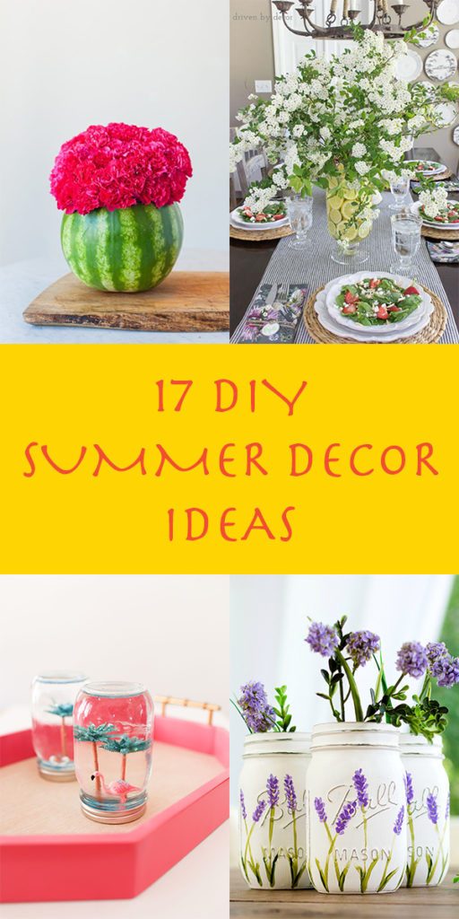 17 Easy DIY Summer Decor Ideas