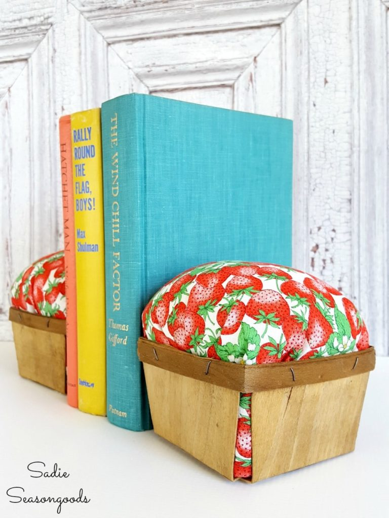 Berry Basket Bookends
