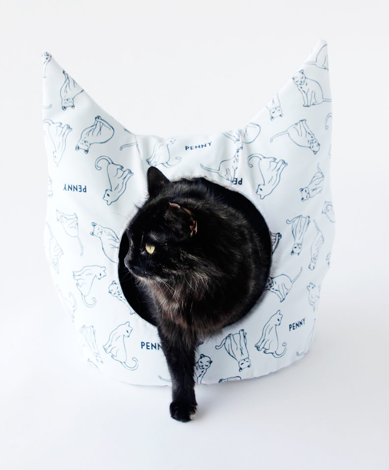 Cat Bed Sewing Pattern
