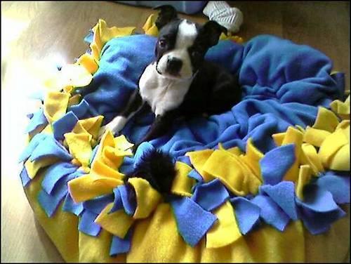 Fleece Puppy Bed