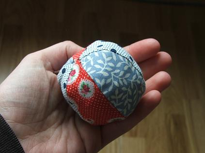 patchwork ball toy