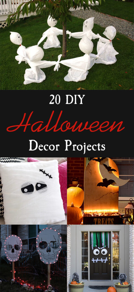 20 DIY Halloween Decor Projects